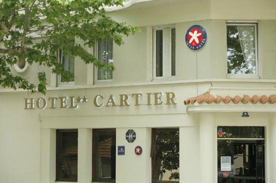 Hotel Restaurant Cartier: Façade