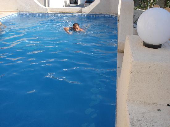 Sea of Aegeon: piscina dell'hotel