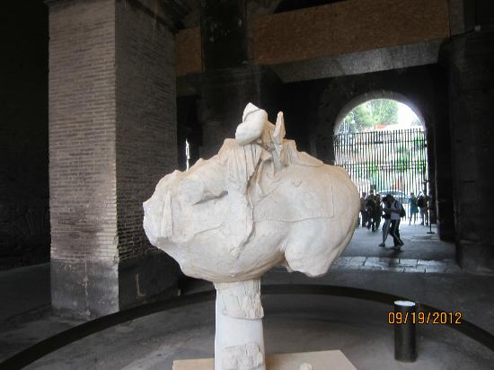 About Rome - Best Walking Tours with Micaela: Colosseum Art - recently found in 2008
