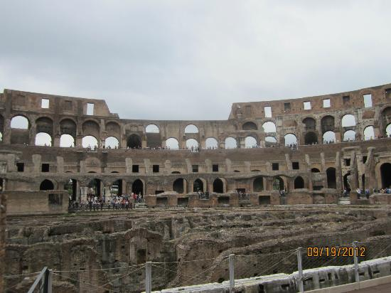 About Rome - Best Walking Tours with Micaela: Inside the Colosseum