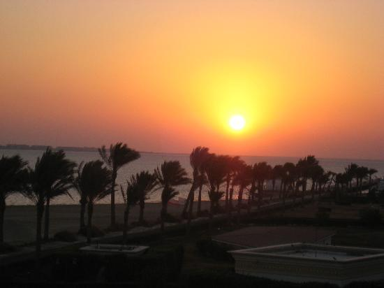 SENTIDO Palm Royale: sunset from sea view room