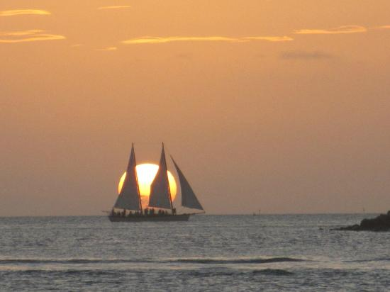 Authors Key West Guesthouse: Key West Sunset