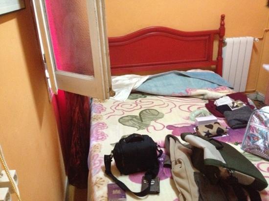 Hostal Regional: de slaapkamer