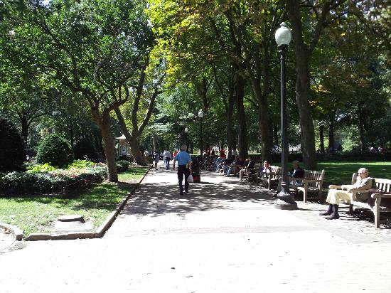 AKA Rittenhouse Square: Rittenhouse Square Park aka is at the Corner of the Park