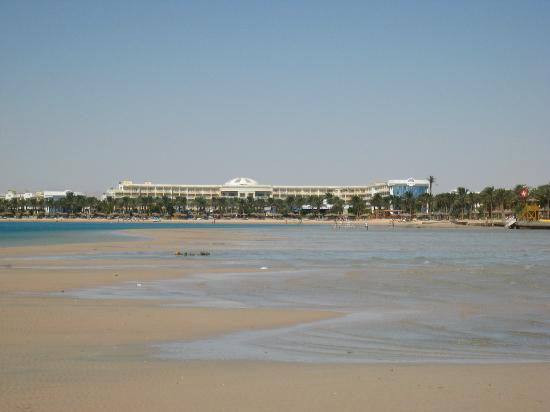 SENTIDO Palm Royale: hotel from sandspit