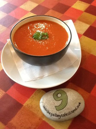 The Gallery Cafe: Roast Pepper and Tomato Soup
