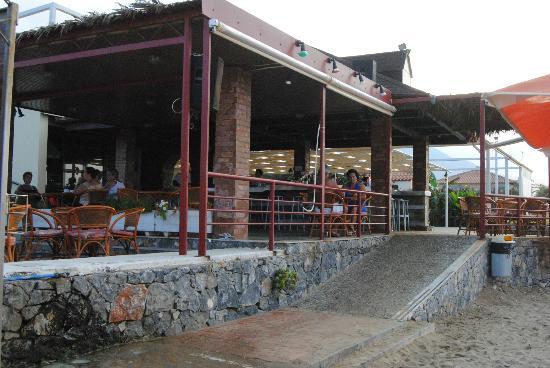 Eden Village Kournas: bar spiaggia