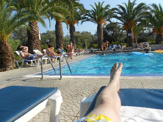 Morfeas Hotel The Pool At