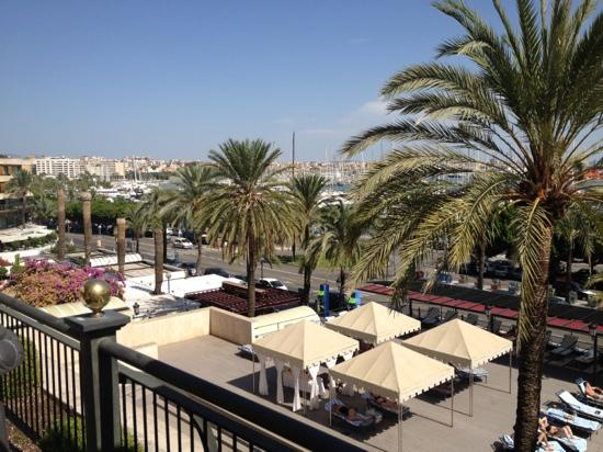 Gran Melia Victoria: over looking the terrace