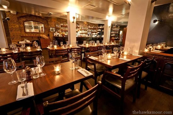 Hawksmoor Spitalfields: Spitalfields Restaurant