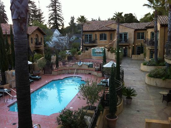 Hotel Los Gatos: The view from my balcony