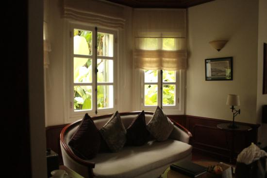 The Luang Say Residence: Our room surrounded by gardens
