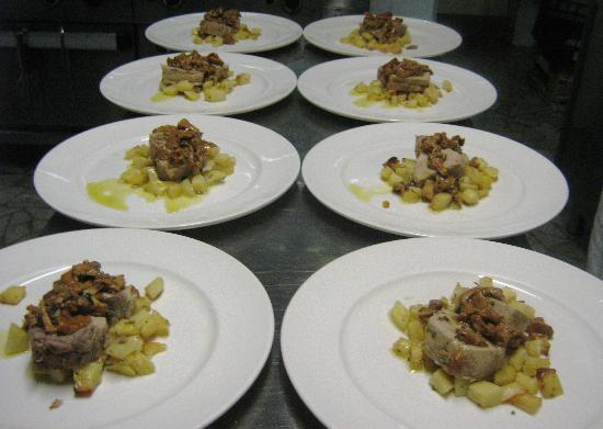 Osteria dalla Pierina : Piatti di un pranzo combinato