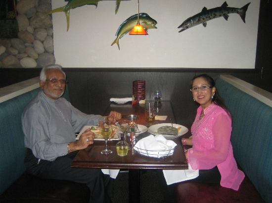 the fish house: Father and daughter:)