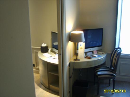 Hotel & Spa La Belle Juliette: un double espace de travail et/ou de détente