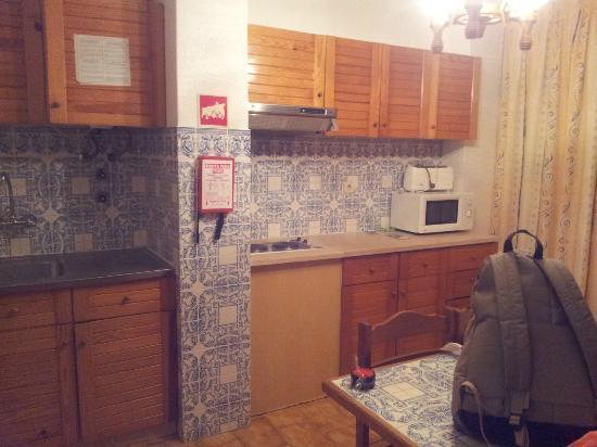 Club Praia Do Vau: Kitchen area