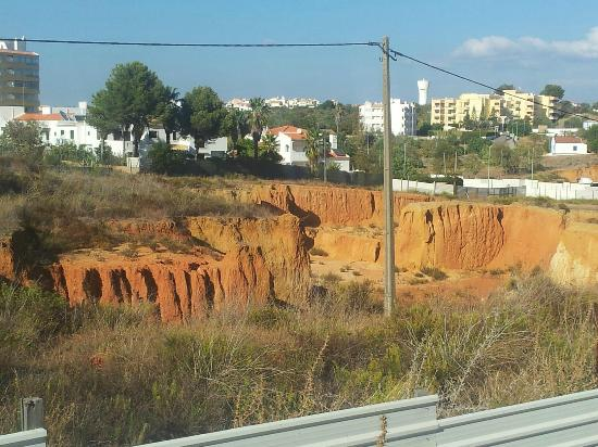 Club Praia Do Vau: The quarry quite next to the Hotel grounds