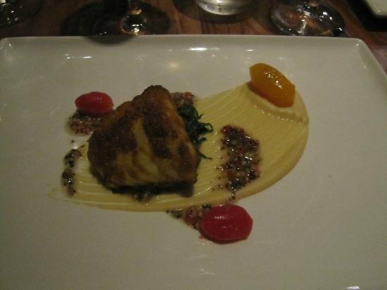 The Tasting Room : Monkfish which melted in our mouths