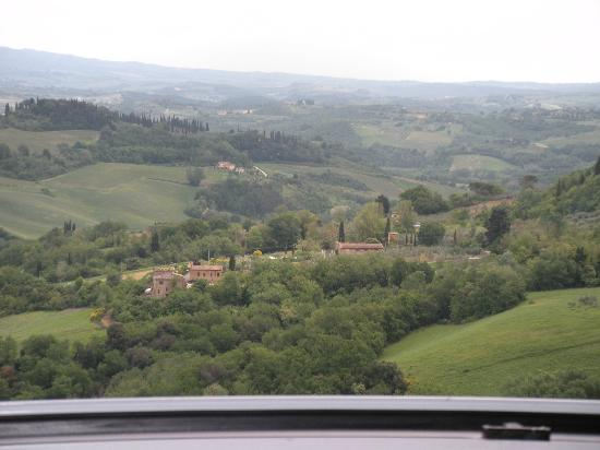 Hotel Bel Soggiorno: Qué vistas!