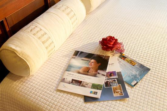 B&B Villa Velia : Depliant e voucher di sconto per le Terme Sensoriali