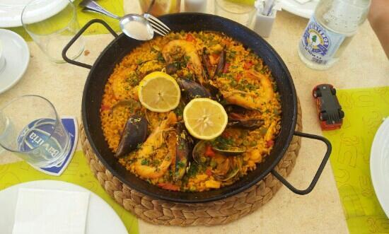 Taberna La Caña : paella