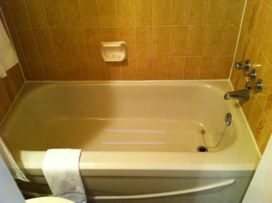 Hotel Le Comte: le bain