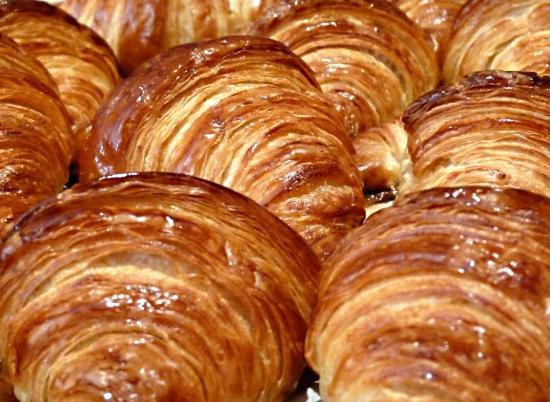 Les Maitres de Mon Moulin: Les croissants pur beurre de Pamplie + farines à la meule de pierre.