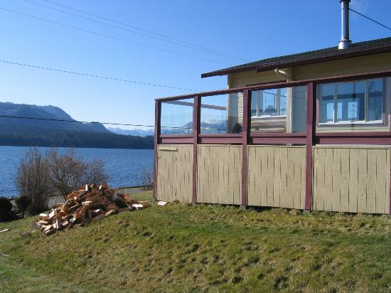 East Side of Alert Bay Lodge