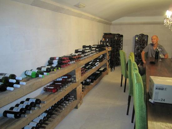 El Refugio De Don Miguel: The Wine Cellar!