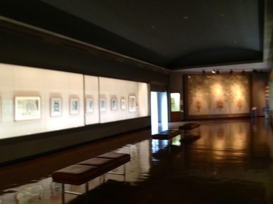 Sugimoto Art Museum: 館内の雰囲気。