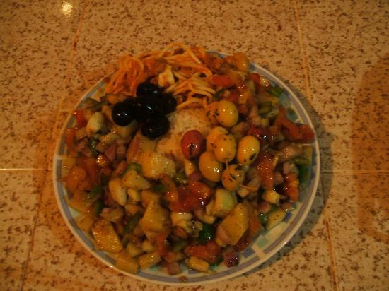 Riad Aicha: Salada