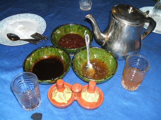 Riad Aicha: Pequeno almoço, tudo natural e local