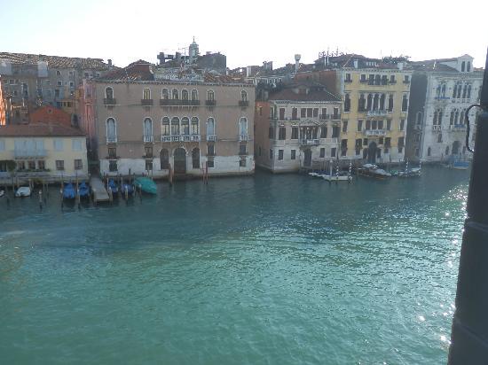 Ca' Angeli: genial vista del gran canal