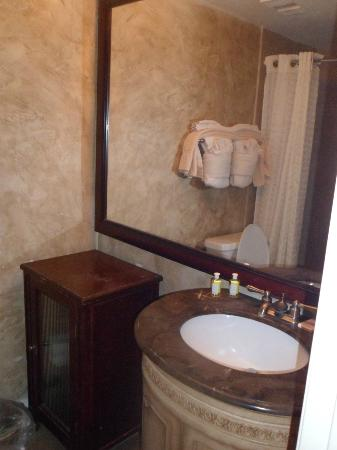 The Enclave Hotel & Suites: Bathroom