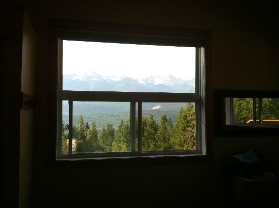 Cedar House Restaurant & Chalets: La vue