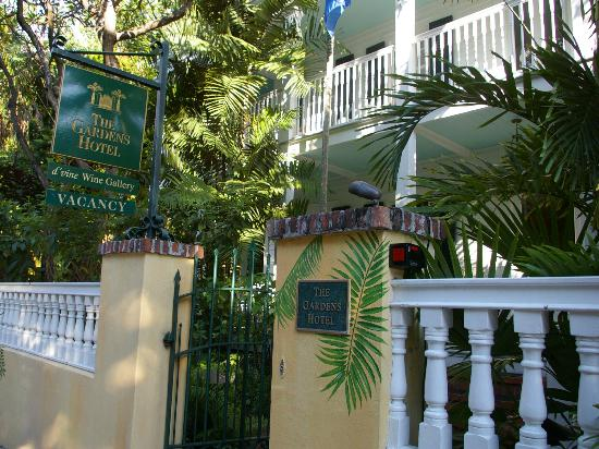 Garden Hotel Key West Exterior Of Hotel Picture Of The Gardens