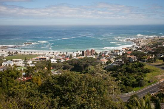 Boutique @ 10: View over Camp's Bay from top balcony