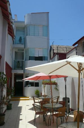 B&B Miraflores Wasi: Le sympathique patio