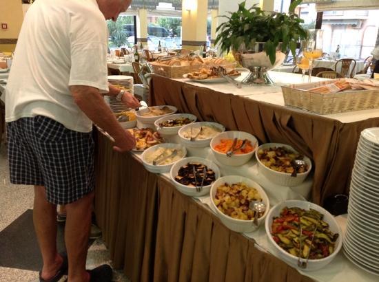 Hotel Imperial: buffet di verdure
