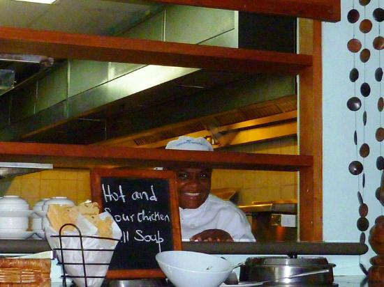Couples Negril: cheeky grin from a chef