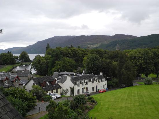 The Lovat, Loch Ness: Vue depuis la chambre vers le Calédonian Canal et le Loch Ness