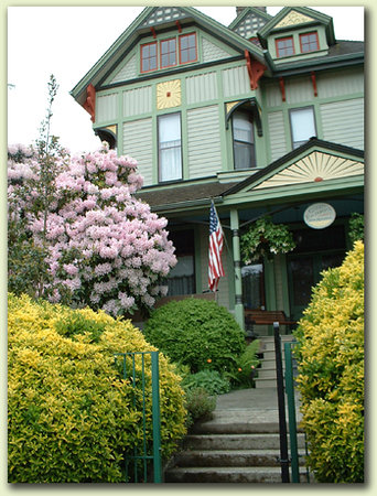 Geiger Victorian Bed & Breakfast : Front of the House