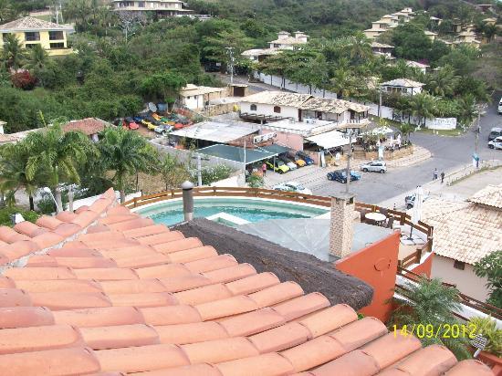 Azeda Boutique Hotel: Vista desde el Balcon