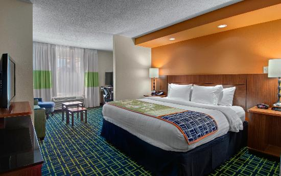 Fairfield Inn & Suites Denver Airport: New King Suite
