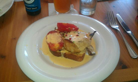 Hucks Lowcountry Table: Lowcountry Hot Brown