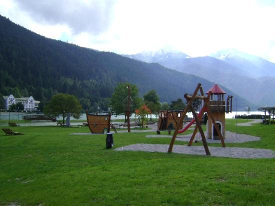 Maurach, Oostenrijk: Lake Achensee. Tirol. Austria.