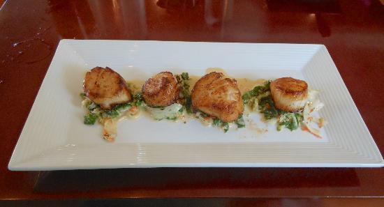 Vin 909 Winecafe: Sea Scallops