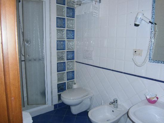 هوتل أندريا: bathroom 