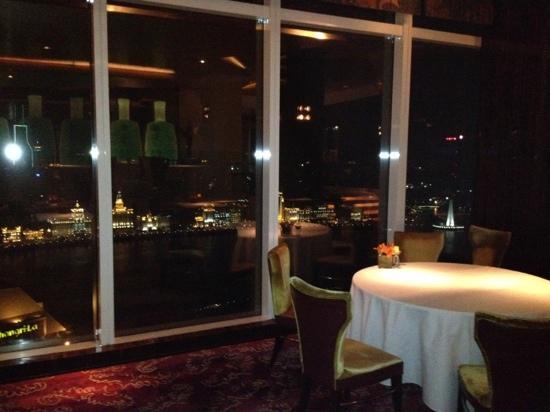 Jade on 36 - Pudong Shangri-La Hotel: 36 floor beautiful view to the bund