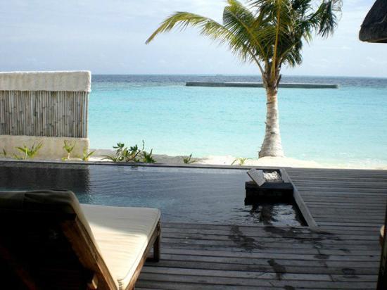 Jumeirah Vittaveli: View from villa